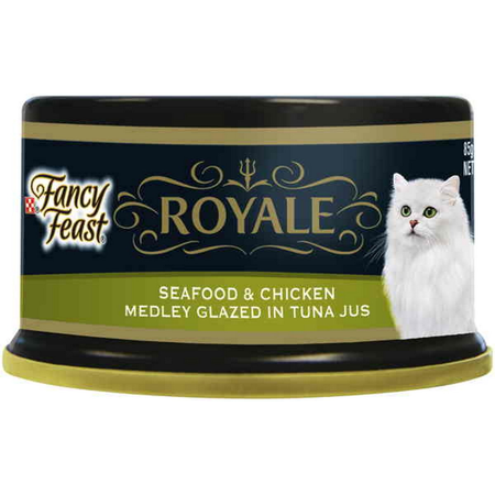 Fancy Feast Royale Seafood Chicken Medley - 85gm