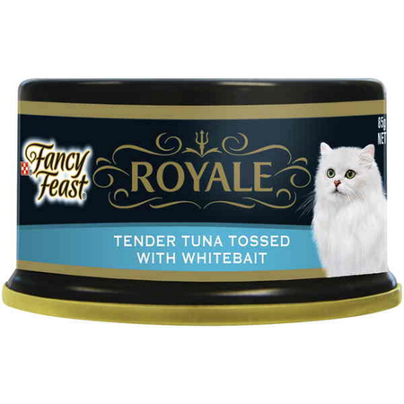 Fancy Feast Royale Tender Tuna Tossed with Whitebait - 85gm