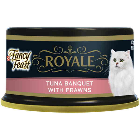 Fancy Feast Royale Tuna Banquet Prawn - 85gm
