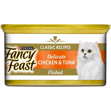 Fancy Feast White Label Delicate Chicken and Tuna - 85gm