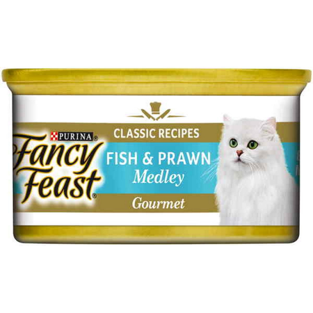Fancy Feast White Label Fish and Prawn Medley - 85gm