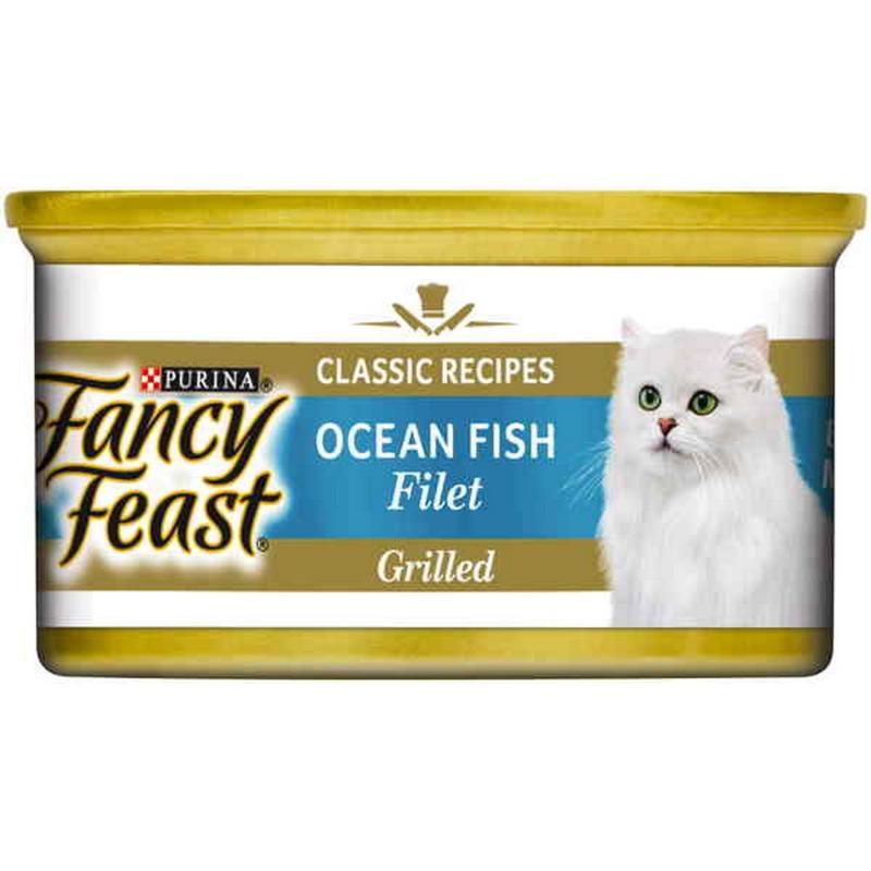 Fancy Feast White Label Ocean Fish Fillet - 85gm