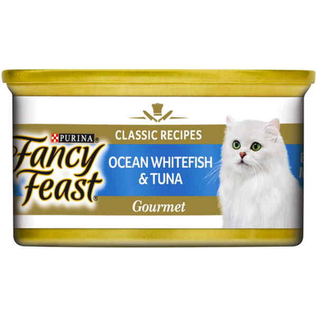 Fancy Feast White Label Ocean Whitefish and Tuna - 85gm
