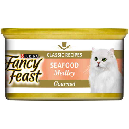 Fancy Feast White Label Seafood Medley - 85gm