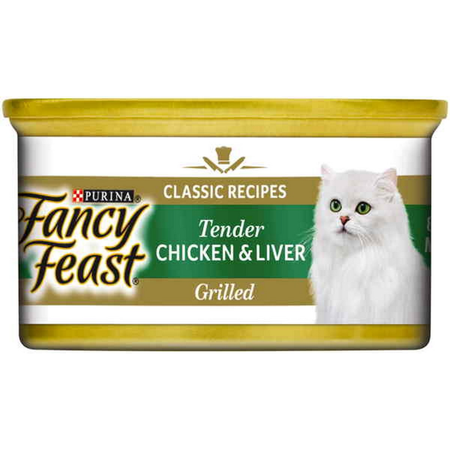 Fancy Feast White Label Tender Chicken and Liver - 85gm