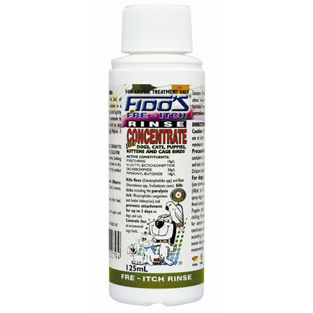 Fido's - Fre Itch Rinse Concentrate - Flea and Lice Control