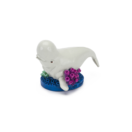Finding Dory Tank Ornament - Bailey w/Coral Medium