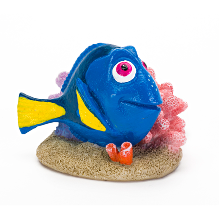 Finding Dory Tank Ornament - Dory with Coral