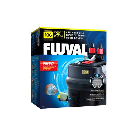 Fluval Aquarium Cannister Filter  106 (Aquariums up to 100L)