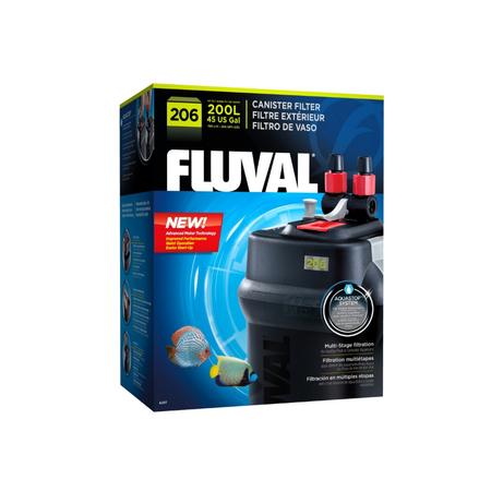 Fluval Aquarium Cannister Filter  206 (Aquariums up to 200L)