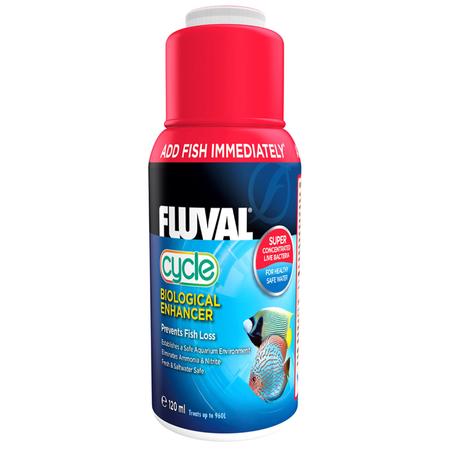 Fluval Biological Enhancer Live Bacteria for Aquariums  120ml