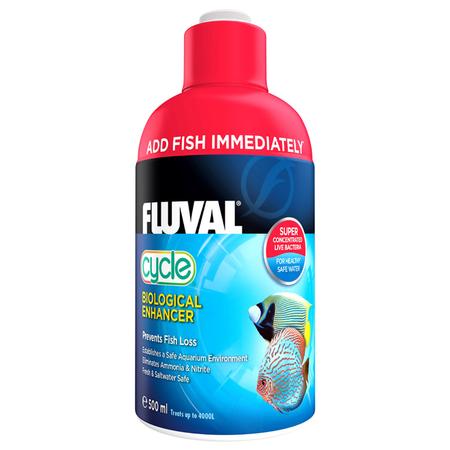 Fluval Biological Enhancer Live Bacteria for Aquariums  500ml