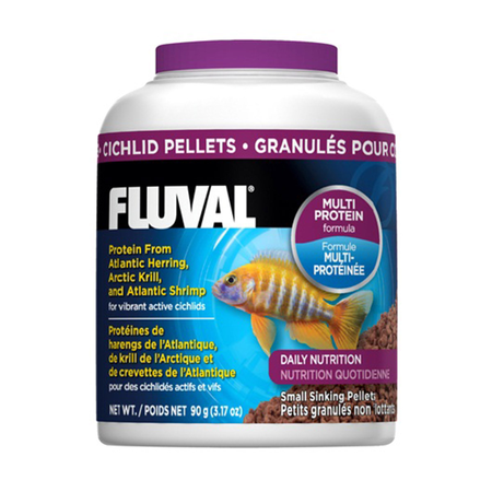 Fluval Cichlid Small Sinking Pellets - 90gm