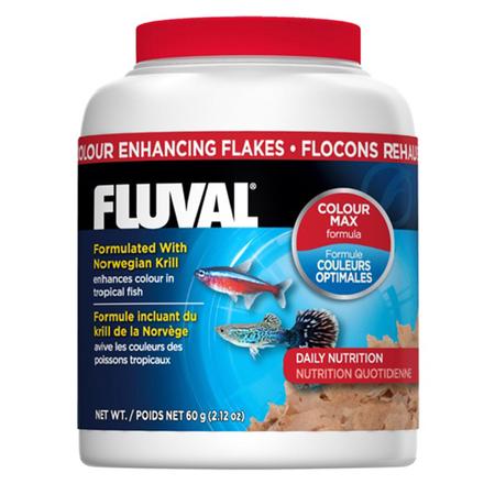 Fluval Colour Enhancing Flakes Tropical Fish Food  54gm