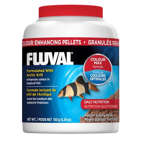 Fluval Colour Enhancing Sinking Pellet for Medium Tropical Fish  150gm