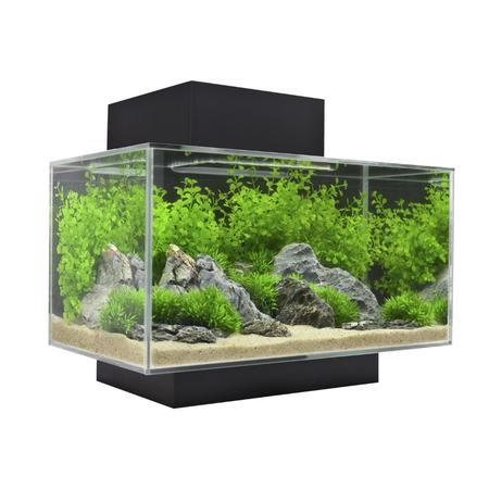 Fluval Edge Aquarium Fish Tank Black 23L