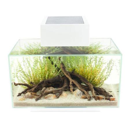 Fluval Edge Aquarium Fish Tank White 23L