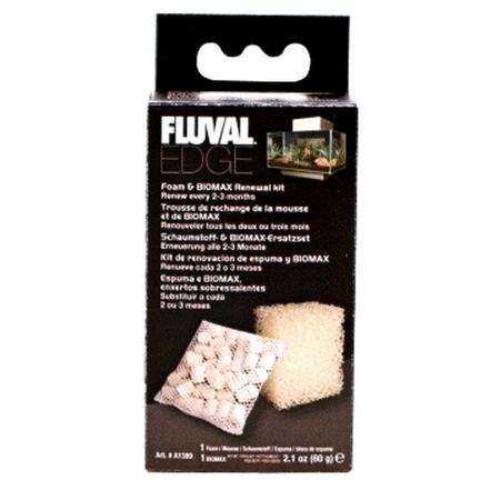Fluval Edge Foam & Biomax Kit