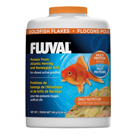 Fluval Goldfish Flakes Fish Food  125gm