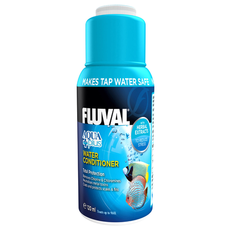 Fluval Total Protection Aquarium Water Conditioner  120ml
