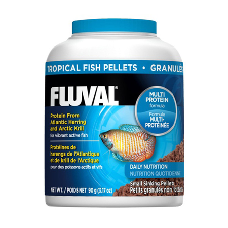 Fluval Tropical Fish Small Sinking Pellets - 90gm