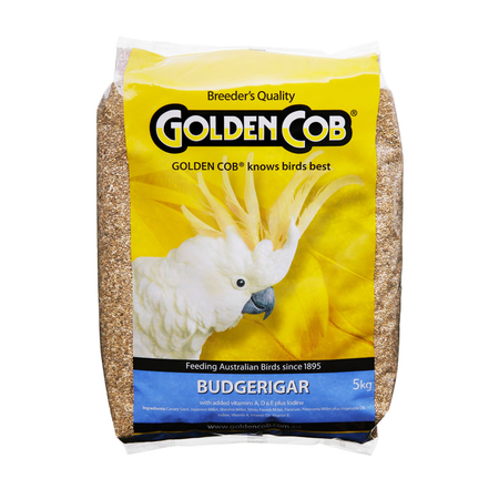 Golden Cob Budgie Mix Bird Seed 5kg