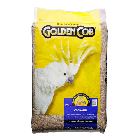 Golden Cob Cockatiel Mix - 20kg