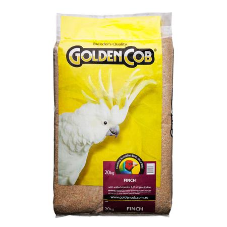 Golden Cob Finch Mix - 20kg
