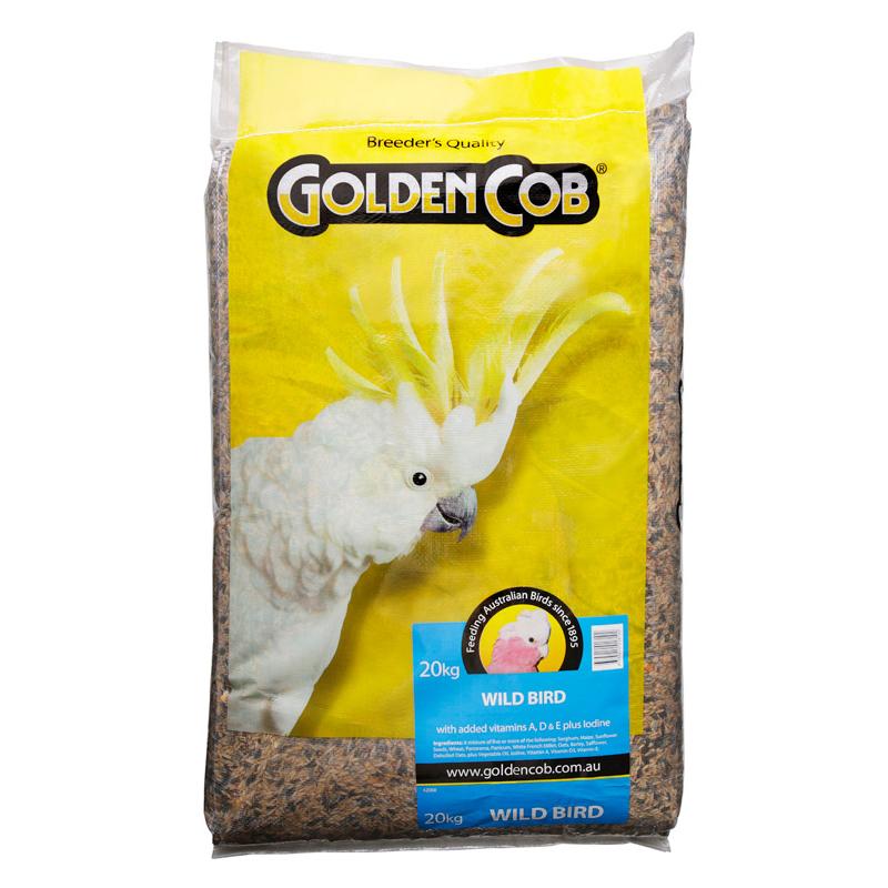 Golden Cob Wild Bird Mix Bird Seed  20kg