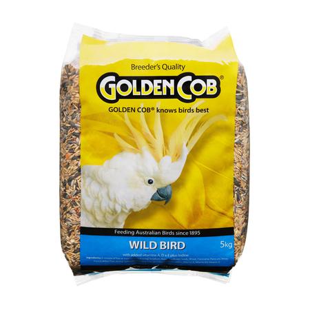 Golden Cob Wild Bird Mix Bird Seed  5kg