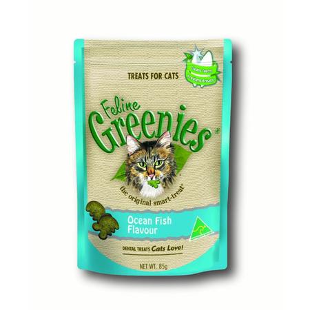 Greenies Feline Ocean Fish - 85gm