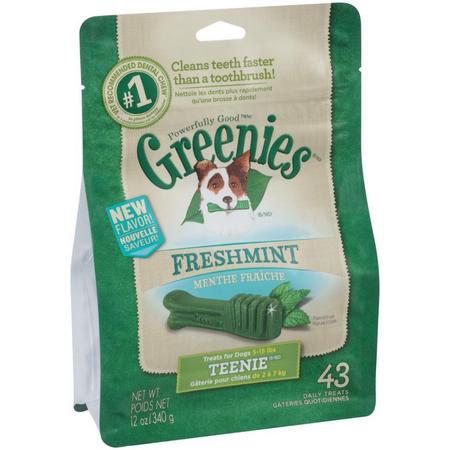 Greenies Freshmint Dental Chews - Teenie 340gm