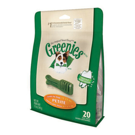 Greenies Petite Dental Chews for Small Dogs  Treat Pack (340gm)