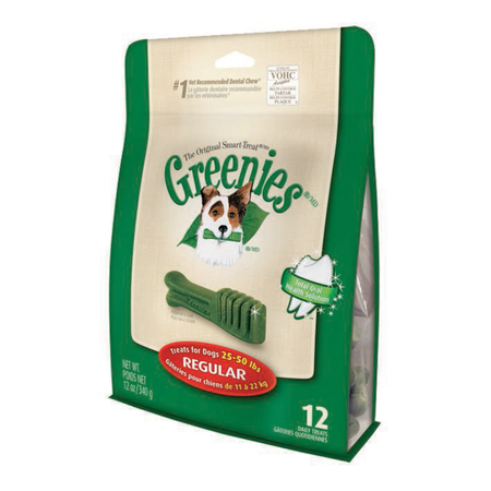 Greenies Regular Dental Chews for Medium Dogs  Treat Pack (340gm)