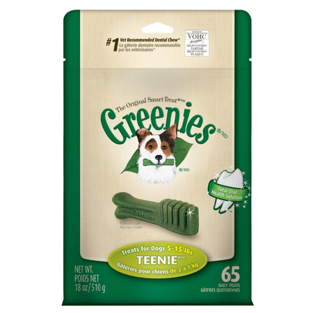Greenies - Teenie - Dental Chews for Extra Small Dogs