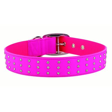 Gummi Bling Pink Collar - Extra Large