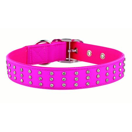 Gummi Bling Pink Collar - Medium