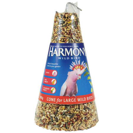 Harmony Wild Bird Seed Cone 900g