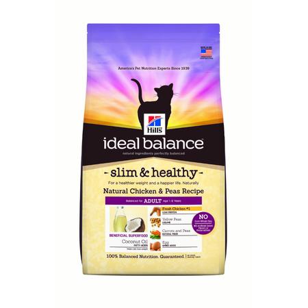 Hills Ideal Balance Adult Slim & Healthy - Dry Cat Food - 2.72kg