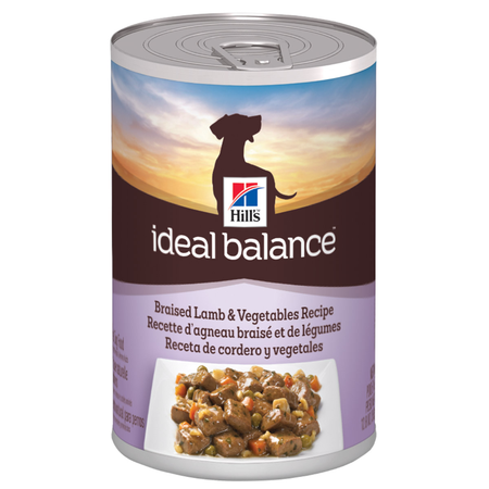 Hill's Ideal Balance Canine Adult Braised Lamb & Vegetables 363g