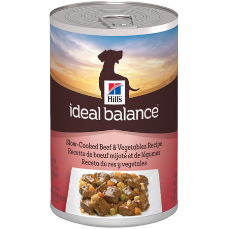 Hill's Ideal Balance Canine Adult Slow-Cooked Beef & Vegetables 363g