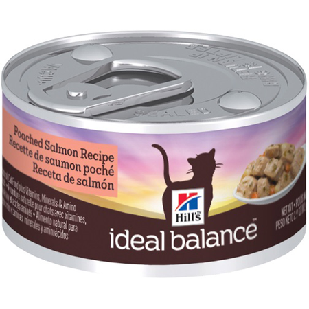Hill's Ideal Balance Feline Adult Poached Salmon - 82g