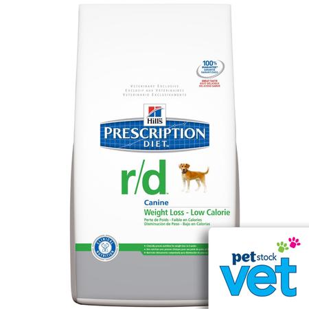 Hill's Prescription Diet r/d Canine weight reduction - 3.85kg