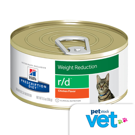 Hill's Prescription Diet r/d Feline Weight Reduction - 156g