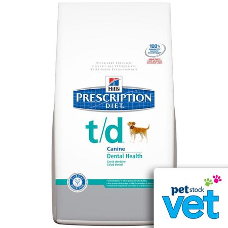 Hill's Prescription Diet t/d Canine Dental Care - 2.25kg