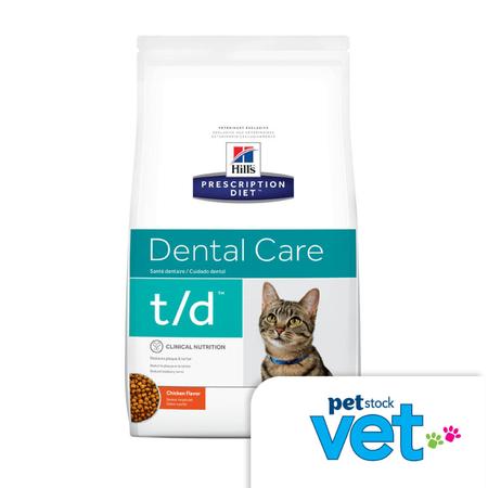 Hill's Prescription Diet t/d Feline Dental Care - 3kg