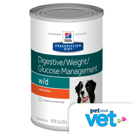 Hill's Prescription Diet w/d Canine weight control 370g