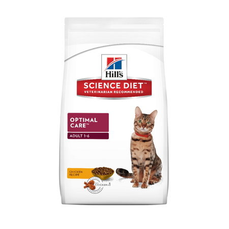Hills Science Diet Feline Adult Optimal Care 2kg
