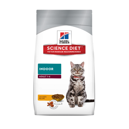 Hill's Science Diet Adult Indoor Formula Dry Cat Food  2kg