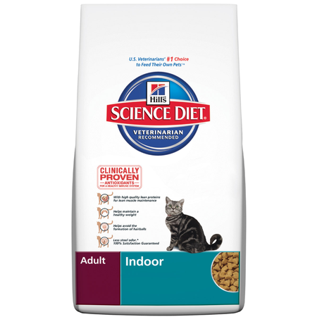 Hill's Science Diet Adult Indoor Formula Dry Cat Food  5kg